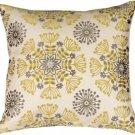 Pillow Decor - Waverly Kaleidoscope Sterling 20x20 Throw Pillow
