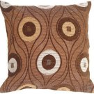 Pillow Decor - Pods in Chocolate Throw Pillow  - SKU: PA1-0068-01-17