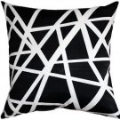 Pillow Decor - Bird's Nest Black Throw Pillow 20X20  - SKU: PD2-0050-05-20
