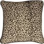 Pillow Decor - Ocelot Print Cotton Large 22x22 Throw Pillow
