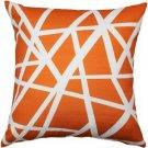 Pillow Decor - Bird's Nest Orange Throw Pillow 20X20  - SKU: PD2-0050-02-20
