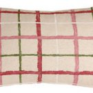 Pillow Decor - Albany Checks 12x20 Throw Pillow  - SKU: VB1-0027-01-92