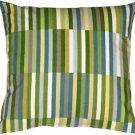 Pillow Decor - Waverly Side Step Marine 20x20 Throw Pillow