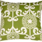 Pillow Decor - Waverly Fun Floret Spruce 20x20 Throw Pillow