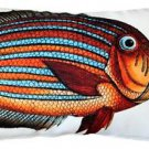 Pillow Decor - Surgeonfish Fish Pillow 12x20  - SKU: PD2-0007-01-92