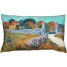 Pillow Decor - Van Gogh Farmhouse in Provence Throw Pillow