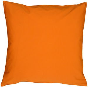 Pillow Decor - Caravan Cotton Orange 20x20 Throw Pillow  - SKU: SE1-0001-03-20