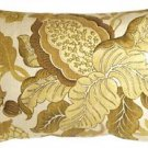 Pillow Decor - Harvest Floral Yellow 16x24 Throw Pillow  - SKU: VB1-0022-03-69