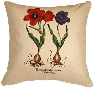 Pillow Decor - Tulips 20x20 Decorative Throw Pillow  - SKU: VB1-0005-02-20