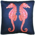 Pillow Decor - Sea Island Sea Horse Reflect Throw Pillow 20x20