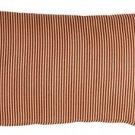 Pillow Decor - Ticking Stripe Sienna 12x20 Throw Pillow  - SKU: NB1-0004-02-92