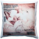 Pillow Decor - Sleeping Siamese Cat Pillow 17x17  - SKU: LE1-0033-01-17