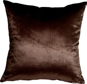 Pillow Decor - Milano 16x16 Brown Decorative Pillow  - SKU: YA1-0009-13-16