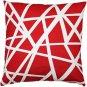 Pillow Decor - Bird's Nest Red Throw Pillow 20X20  - SKU: PD2-0050-03-20