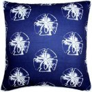 Pillow Decor - Hilton Head Sand Dollar Large Pattern Pillow 20x20