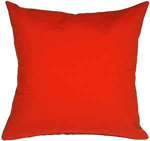 Pillow Decor - Sunbrella Logo Red 20x20 Outdoor Pillow  - SKU: PD1-0002-03-20