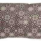 Pillow Decor - Houndstooth Spheres 12x20 Gray Throw Pillow