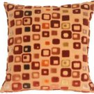 Pillow Decor - Window Box in Red Wine Throw Pillow  - SKU: PA1-0064-00-17