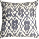 Pillow Decor - Caravan Ikat Old Blue 20X20 Throw Pillow  - SKU: LD1-0004-01-20