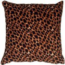 Pillow Decor - Cheetah Print Cotton Small Throw Pillow  - SKU: PC1-0004-01-17