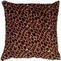 Pillow Decor - Cheetah Print Cotton Small Throw Pillow  - SKU: PC1-0004-01-17