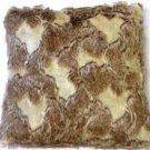 Pillow Decor - Variegated Faux Fur 20x20 Throw Pillow  - SKU: YB1-0007-01-20