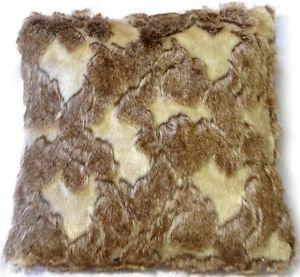 Pillow Decor - Variegated Faux Fur 20x20 Throw Pillow  - SKU: YB1-0007-01-20
