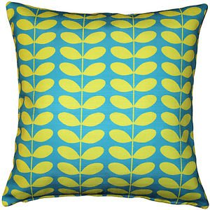Pillow Decor - Mid-Century Modern Turquoise Throw Pillow 20x20