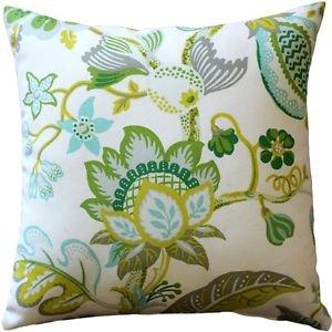 Pillow Decor - St. Thomas Lime Outdoor Throw Pillow 20x20  - SKU: WB1-0012-01-20