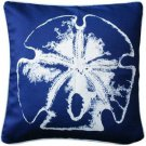 Pillow Decor - Hilton Head Sand Dollar Solitaire Throw Pillow 20x20