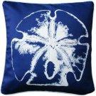 Pillow Decor - Hilton Head Sand Dollar Solitaire Throw Pillow 20x20