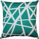 Pillow Decor - Bird's Nest Teal Throw Pillow 20X20  - SKU: PD2-0050-01-20