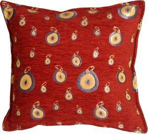 Pillow Decor - Blue Target 17x17 Throw Pillow  - SKU: PA1-0007-01-17