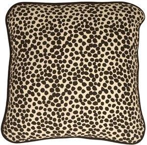 Pillow Decor - Deer Print Cotton Small Throw Pillow  - SKU: PC1-0005-01-17