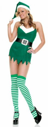 3 Piece Sexy Christmas Elf Costume