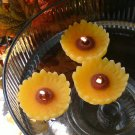 Sunflower floating candles set of 12 Fall Wedding Party