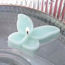 8 Mint Floating Butterfly Wedding Party Candles candle