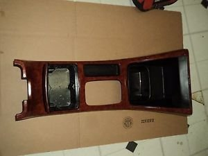 02 TOYOTA CAMRY WOOD FINISHED CENTER CONSOLE CUP HOLDER CIGARETT LIGHTER