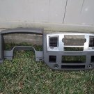 07 DODGE RAM CREW CAB DASH INSTRUMENT CLUSTER RADIO VENT COVER PANEL