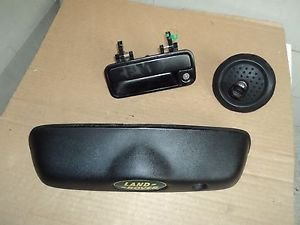 LAND ROVER FREELANDER DRIVER LEFT FRONT DOOR TRUNK HANDLES GAS CYLINDERS W/KEY