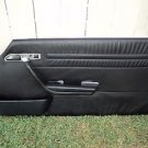 MERCEDES BENZ 560SL 2DR COUPE PASSENGER RIGHT DOOR TRIM PANEL BLACK 86