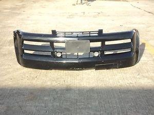 2002-2004 Isuzu Axiom Front Bumper Cover With LH & RH Fog Lights Black OEM