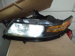 04  ACURA TL DRIVER LEFT SIDE HID  XENON HEADLIGHT HEADLAMP W/HEADLIGHT BRACKET