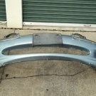 03 JAGUAR X-TYPE FRONT BUMPER COVER SIDE MAKER W/ L&R FOG LIGHS OEM LIGHT GREEN