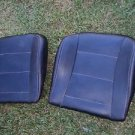 99 BMW E36 323I 2DR COUPE CONVERTIBLE LEFT AND RIGHT BOTTOM SEAT CUSHION BLACK
