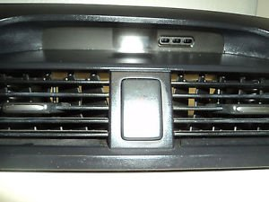 04 06 07 08 ACURA TL CENTER DASH AC HEATER AIR VENT BLACK WITH DIGITAL CLOCK
