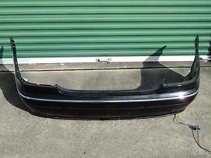 2000-2006 MERCEDES BENZ W215 CL500 CL600 2DR COUPE  REAR BUMPER COVER BLACK LOEM