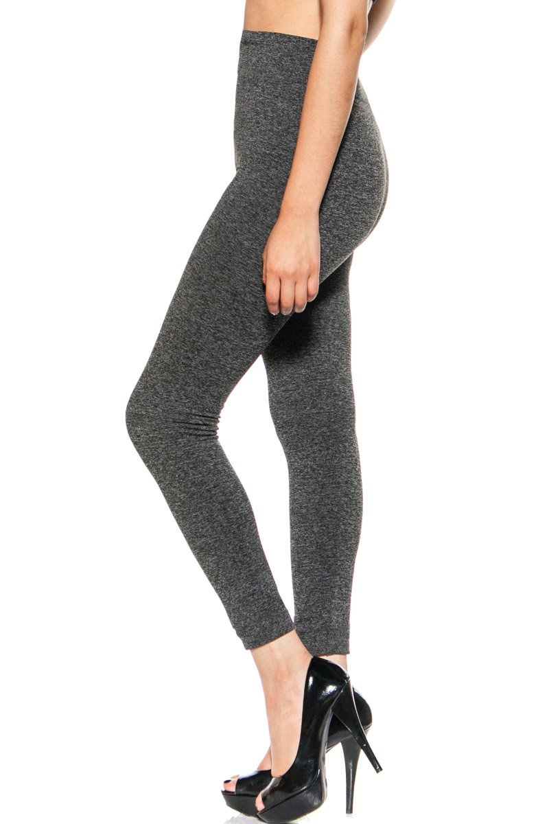 S.G Style Women's Solid Active Leggings for Yoga Running Workout (L/XL, Grey) �
