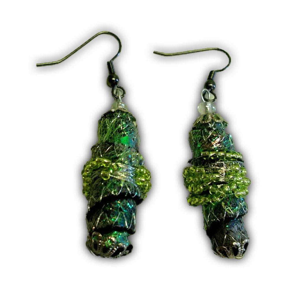 Textile Earrings