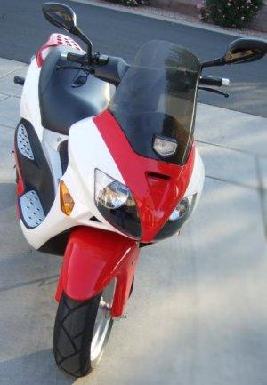 Electric scooter lead-acid batteries 50 mph